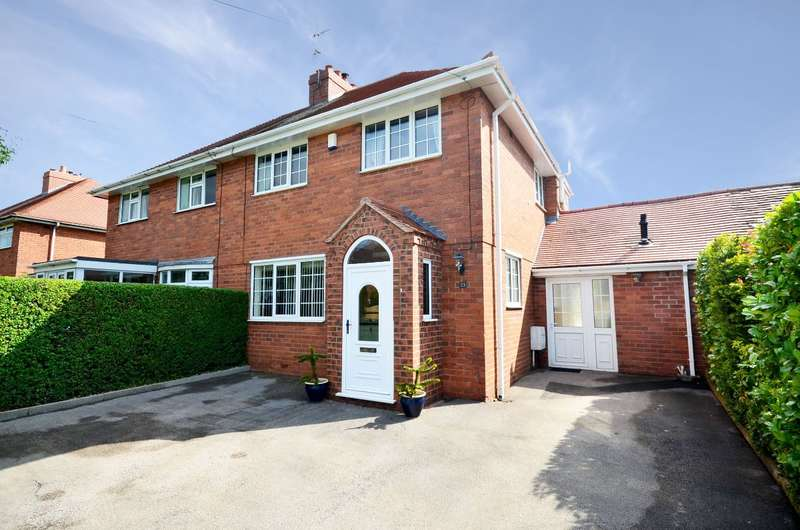 3 Bedrooms Semi Detached House for sale in West View, Rough Close, ST3 7PH