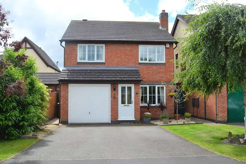 4 Bedrooms Detached House for sale in Burway Meadow, Alrewas