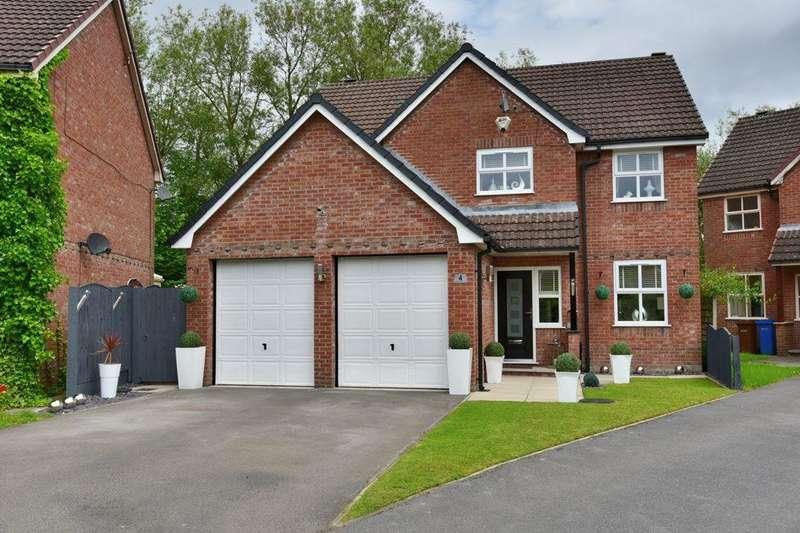 5 Bedrooms Detached House for sale in Gawthorne Close, Hazel Grove, Stockport, SK7 5AB