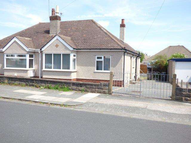 2 Bedrooms Semi Detached Bungalow for sale in Michaelson Avenue, Torrisholme, Morecambe, LA4 6SF