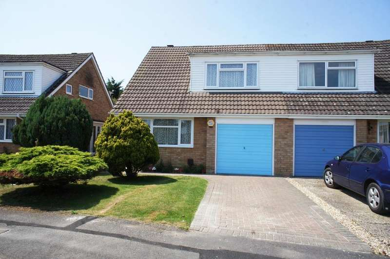 3 Bedrooms Semi Detached House for sale in Anton Close, Oakley, Basingstoke, Hants, RG23 7AG
