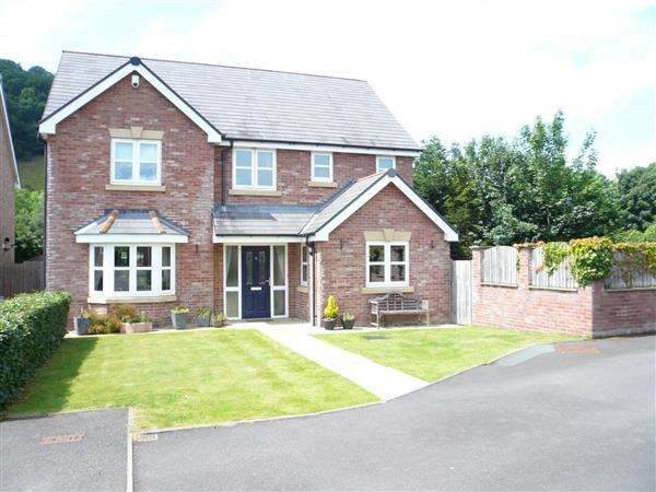 4 Bedrooms Detached House for sale in Nanty Felin, Abermule, POWYS, POWYS