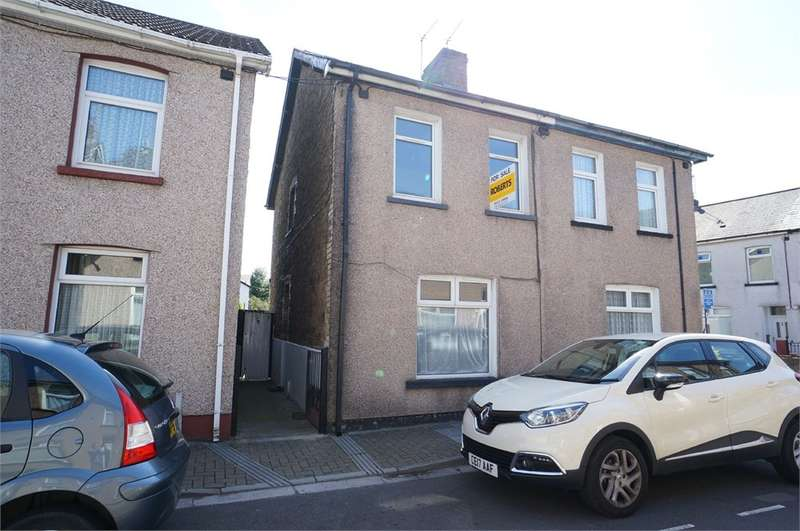 3 Bedrooms Semi Detached House for sale in Wesley Place, Risca, NEWPORT, NP11