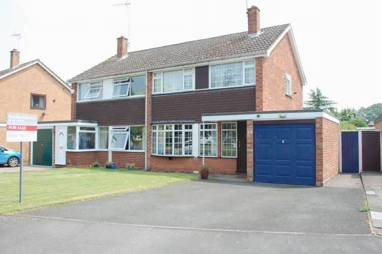 3 Bedrooms Semi Detached House for sale in Sherwell Drive Alcester