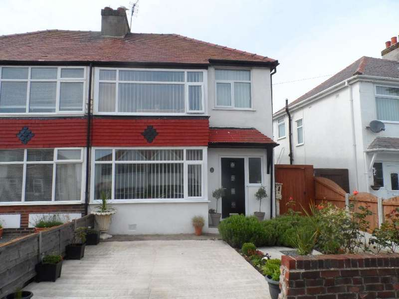 3 Bedrooms Semi Detached House for sale in Buckley Crescent, Cleveleys, FY5 1RH