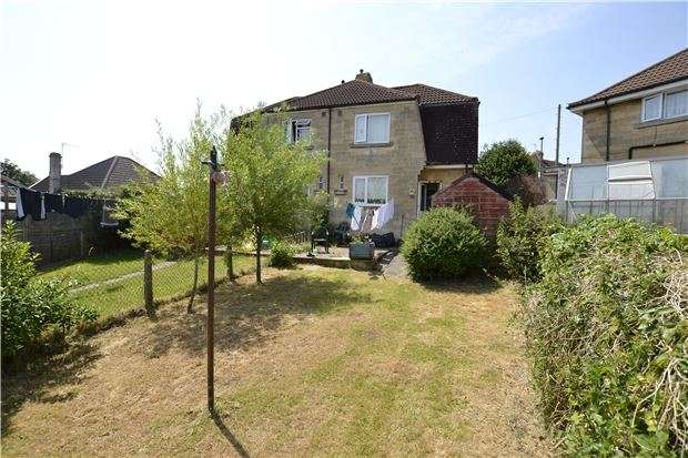 2 Bedrooms Semi Detached House for sale in Haycombe Drive, BATH, Somerset, BA2 1PR