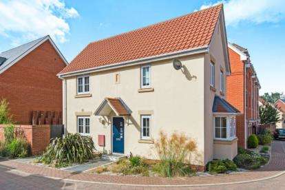 3 Bedrooms Detached House for sale in Costessey, Norwich, Norfolk