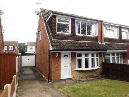 3 Bedrooms Semi Detached House for sale in Glan Y Gors, Prestatyn, Denbighshire, LL19