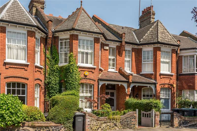 4 Bedrooms Terraced House for sale in Windermere Road, London, N10