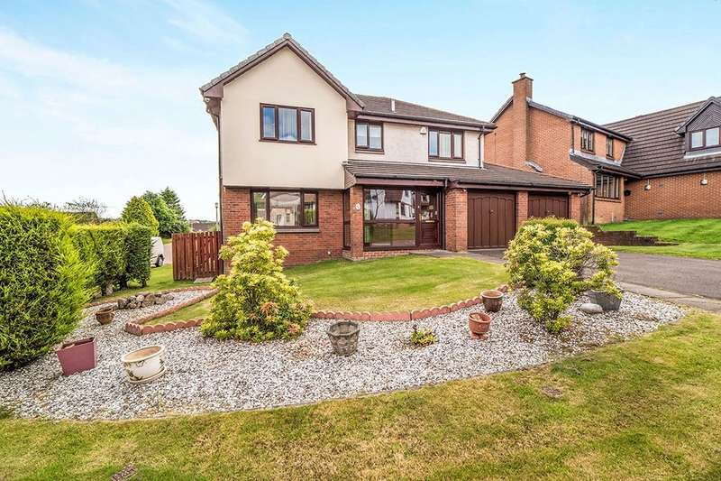 4 Bedrooms Detached House for sale in Dornoch Way, Westerwood, Cumbernauld, G68
