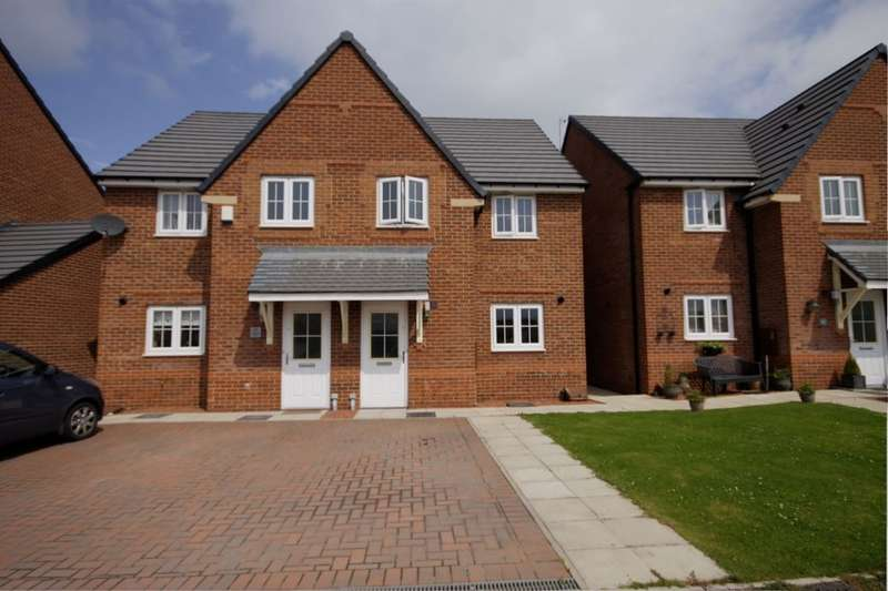 3 Bedrooms Semi Detached House for sale in Abbotts Way, Consett, DH8