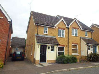 3 Bedrooms Semi Detached House for sale in Laindon, Basildon, Essex