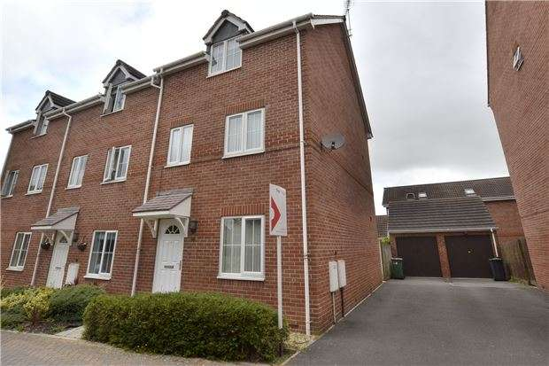 4 Bedrooms Semi Detached House for sale in Mildenhall Way Kingsway, Quedgeley, GLOUCESTER, GL2 2DH