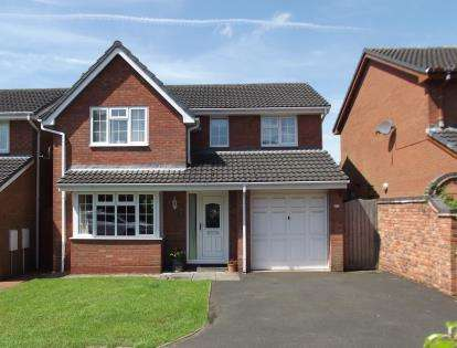 4 Bedrooms Detached House for sale in Spinney Close, Burntwood, Staffordshire