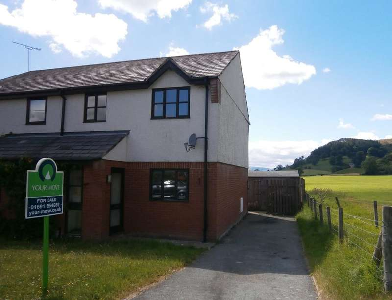 3 Bedrooms Semi Detached House for sale in Maes Watkin, Llangedwyn, Oswestry, SY10
