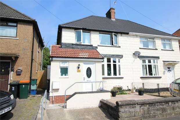 3 Bedrooms Semi Detached House for sale in 144 Gaer Park Drive, NEWPORT
