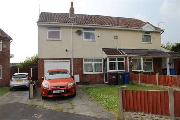 3 Bedrooms Semi Detached House for sale in Beattock Close, Liverpool, Merseyside