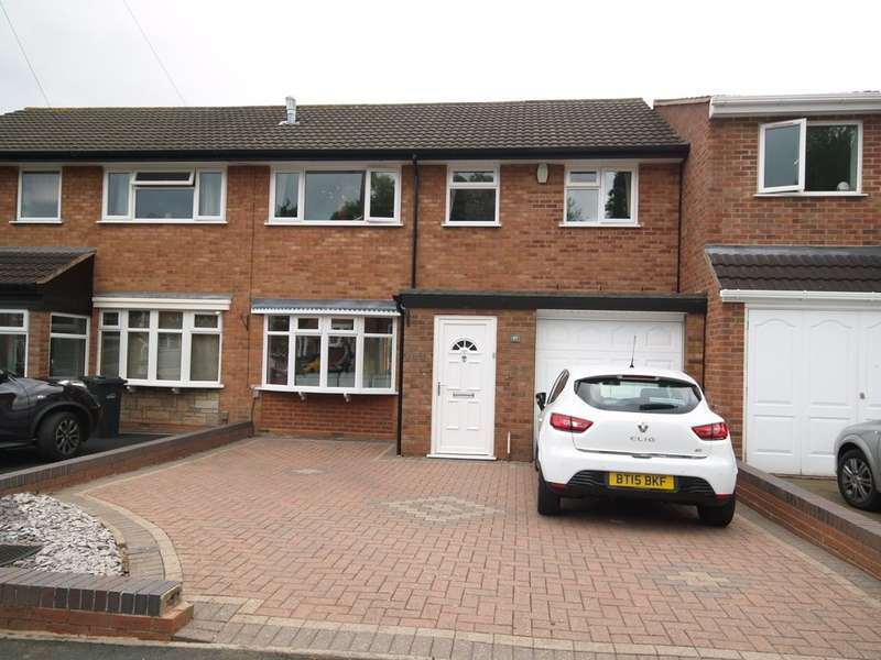 4 Bedrooms Semi Detached House for sale in Rangeways Road, Kingswinford