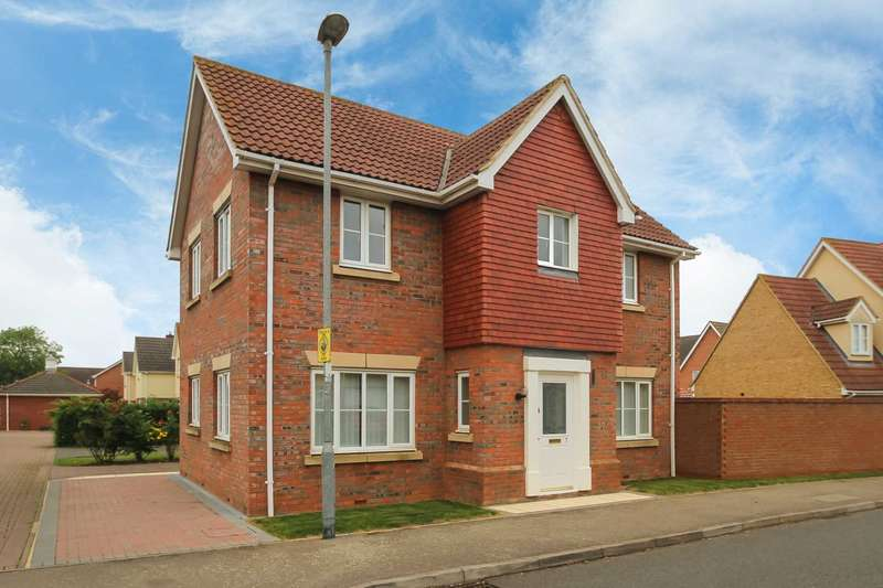 4 Bedrooms Detached House for sale in Signal Close, Henlow, Bedfordshire, SG16 6FE