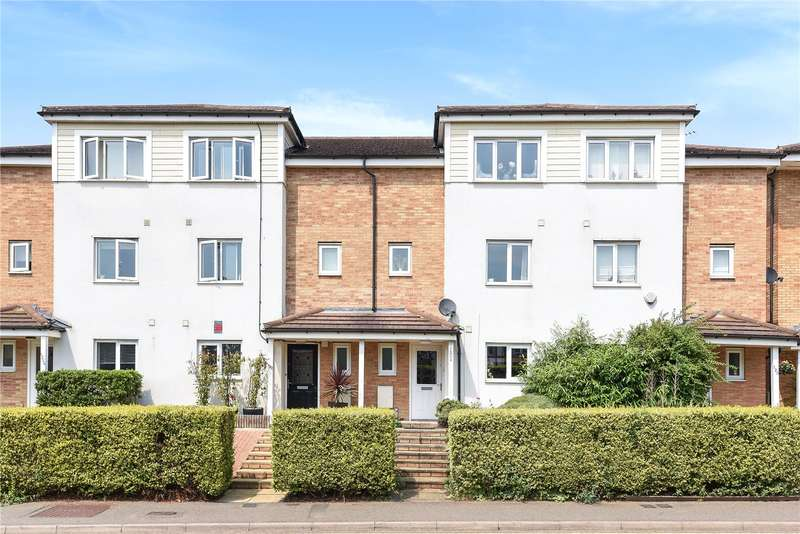 4 Bedrooms Mews House for sale in Rickmansworth Road, Watford, Hertfordshire, WD18