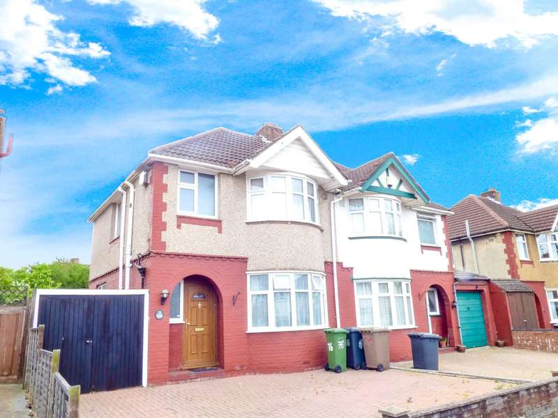 3 Bedrooms Semi Detached House for sale in Somerset Avenue, Luton