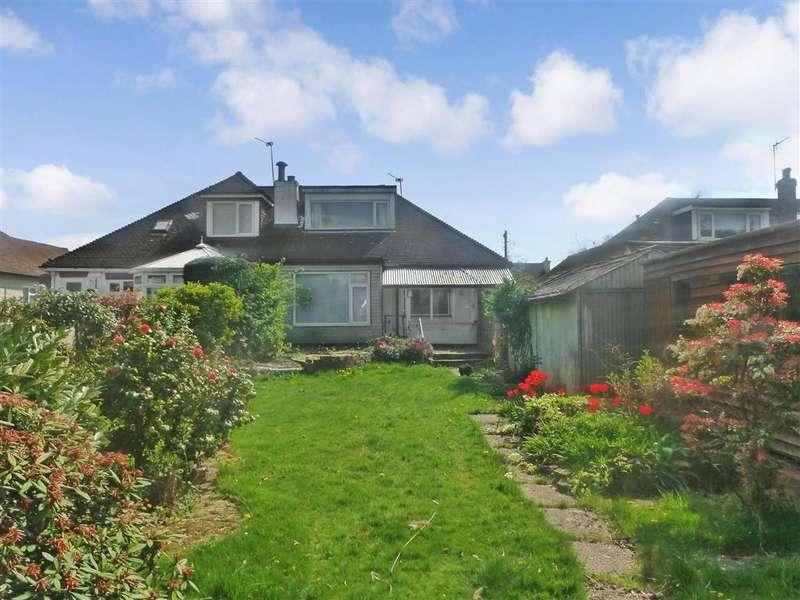 2 Bedrooms Semi Detached Bungalow for sale in Crewes Avenue, Warlingham, Surrey