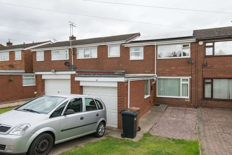 3 Bedrooms Terraced House for sale in St davids drive, Connahs quay, Flintshire, CH5