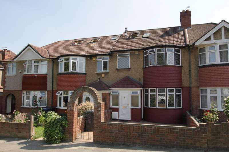4 Bedrooms Terraced House for sale in Whitton Avenue West, Greenford, London, UB6
