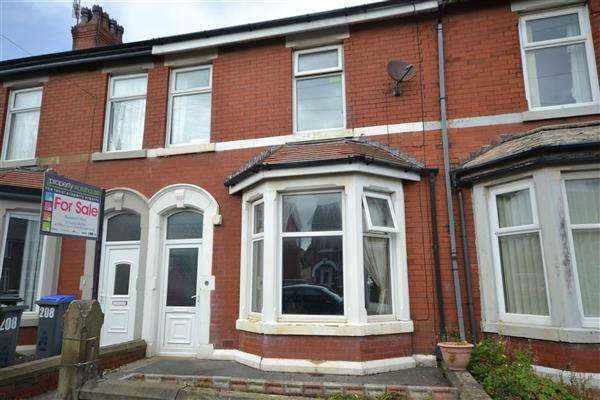 3 Bedrooms Terraced House for sale in Cavendish Road, Blackpool