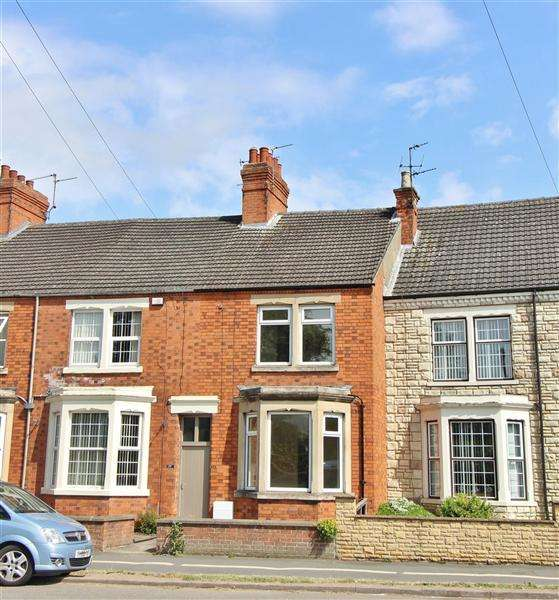 3 Bedrooms Terraced House for sale in Harlaxton Road, Grantham