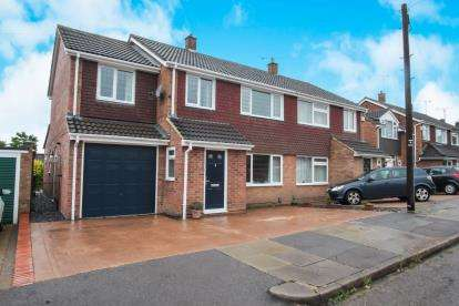 4 Bedrooms Semi Detached House for sale in Lancing Road, Luton, Bedfordshire