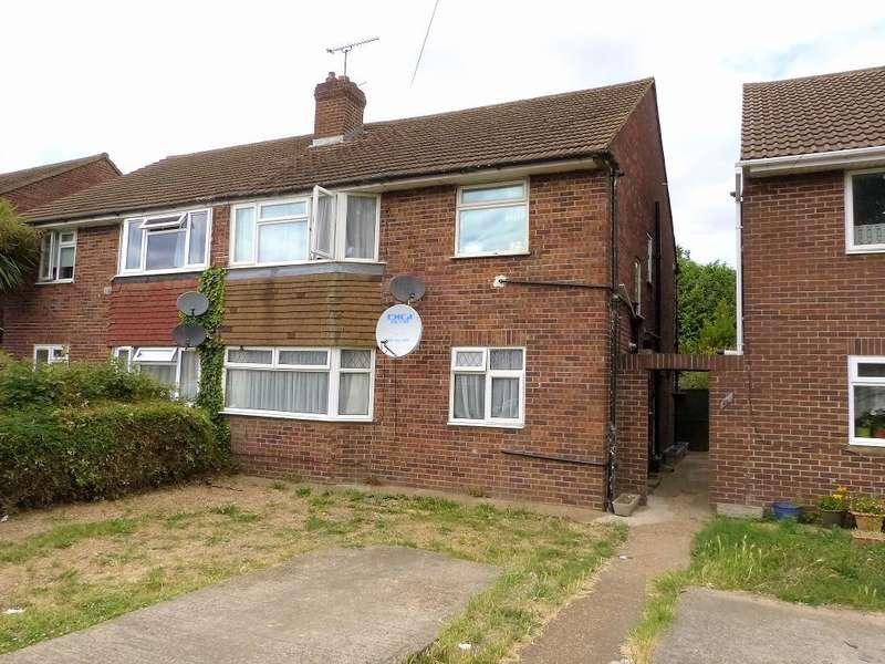 2 Bedrooms Maisonette Flat for sale in West End Lane, Harlington, UB3 5LT