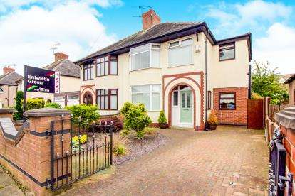 4 Bedrooms Semi Detached House for sale in Sonning Avenue, Litherland, Liverpool, Merseyside, L21