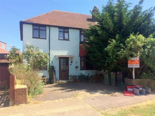5 Bedrooms Semi Detached House for sale in Gadesden Road, West Ewell