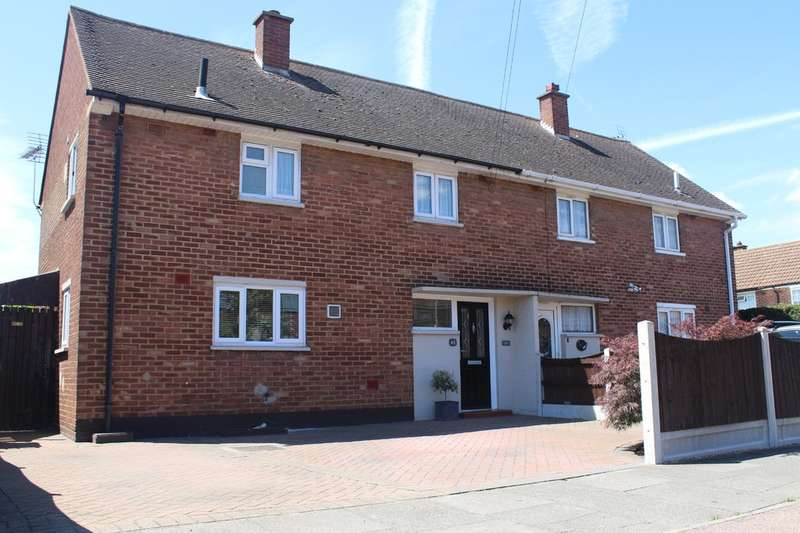 3 Bedrooms Semi Detached House for sale in Fairway, Grays