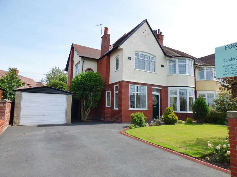 4 Bedrooms Semi Detached House for sale in Mythop Road, Lytham