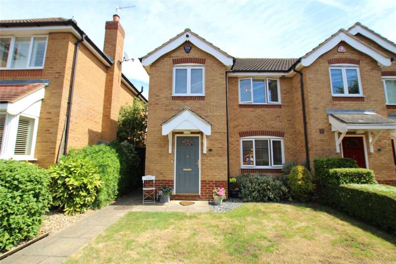 3 Bedrooms Semi Detached House for sale in Suffolk Close, London Colney, St. Albans, Hertfordshire, AL2