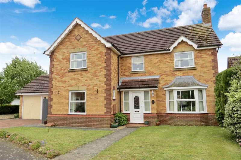 4 Bedrooms Detached House for sale in Eliot Close, Sleaford