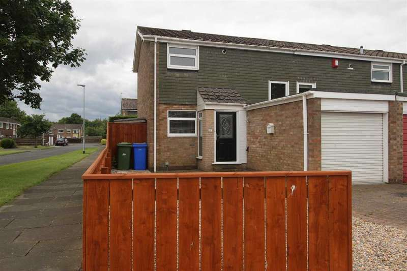 2 Bedrooms Terraced House for sale in Greenlaw Road, Southfield Green, Cramlington