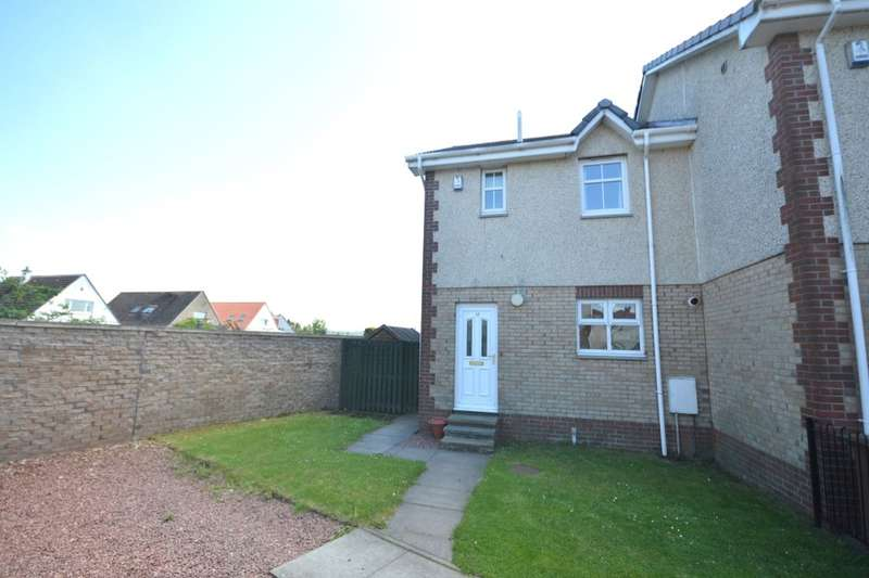 3 Bedrooms Semi Detached House for sale in Dundarroch Street, Larbert, FK5