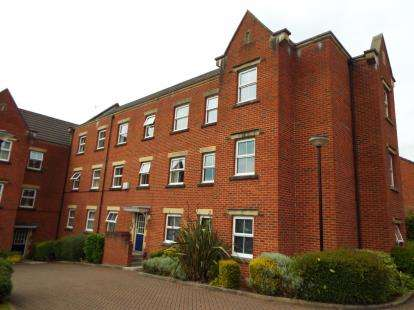 2 Bedrooms Flat for sale in Alma Wood Close, Chorley, Lancashire