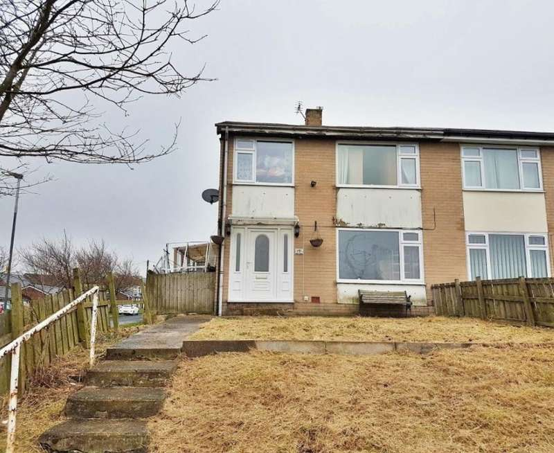 3 Bedrooms Semi Detached House for sale in Dent Close, Haswell, Durham, County Durham, DH6 2BP