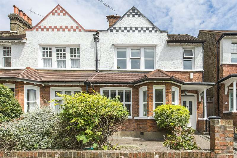 4 Bedrooms Semi Detached House for sale in Lindfield Road, Ealing, W5