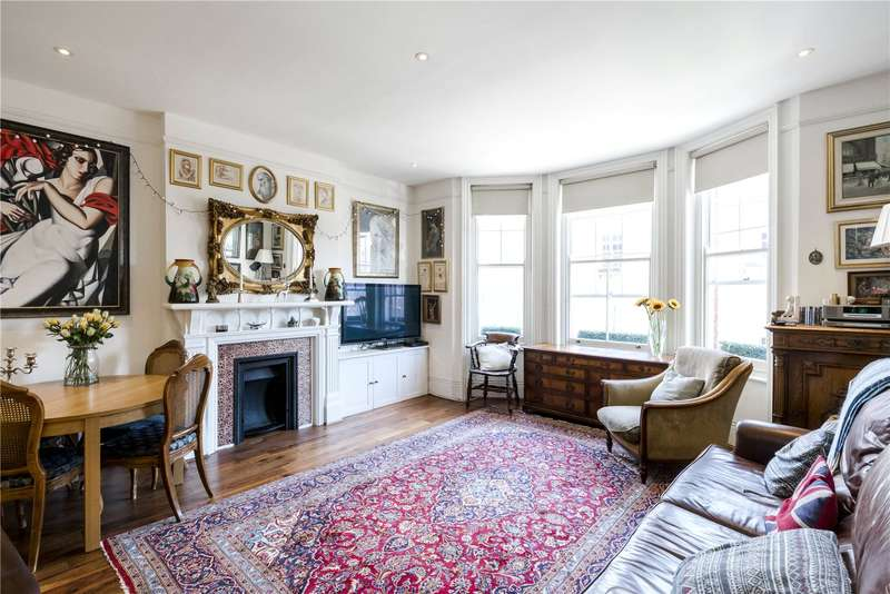 4 Bedrooms Flat for sale in Ilchester Mansions, Abingdon Road, London, W8