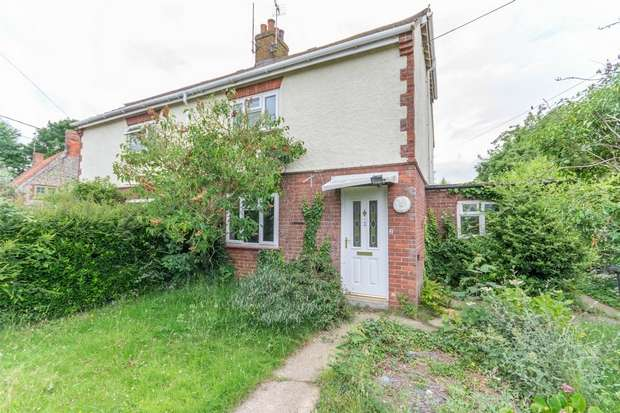 3 Bedrooms Semi Detached House for sale in 2 Thursford Road, Great Snoring