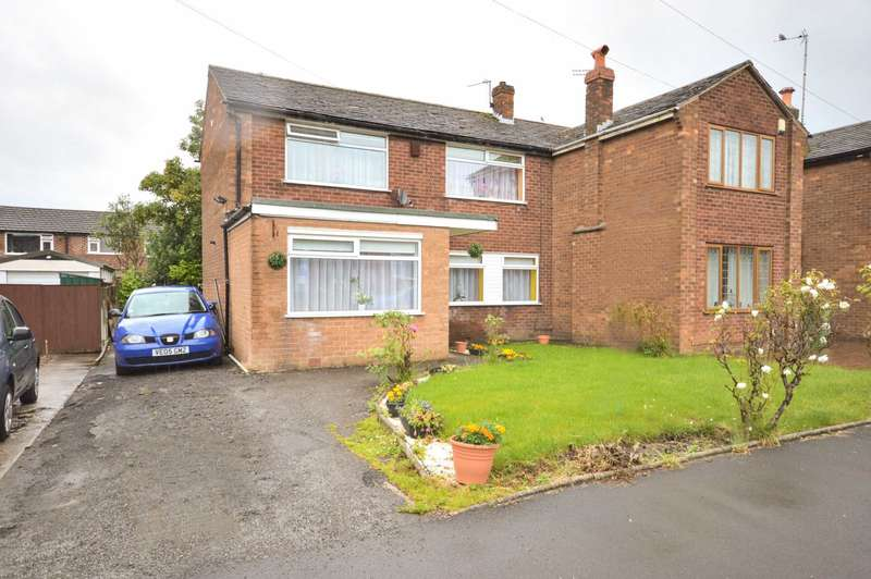 3 Bedrooms Semi Detached House for sale in GENEVA ROAD, Bramhall