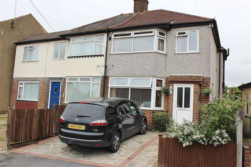 3 Bedrooms Semi Detached House for sale in Ruskin Road,Belvedere, Kent, DA17 5BB