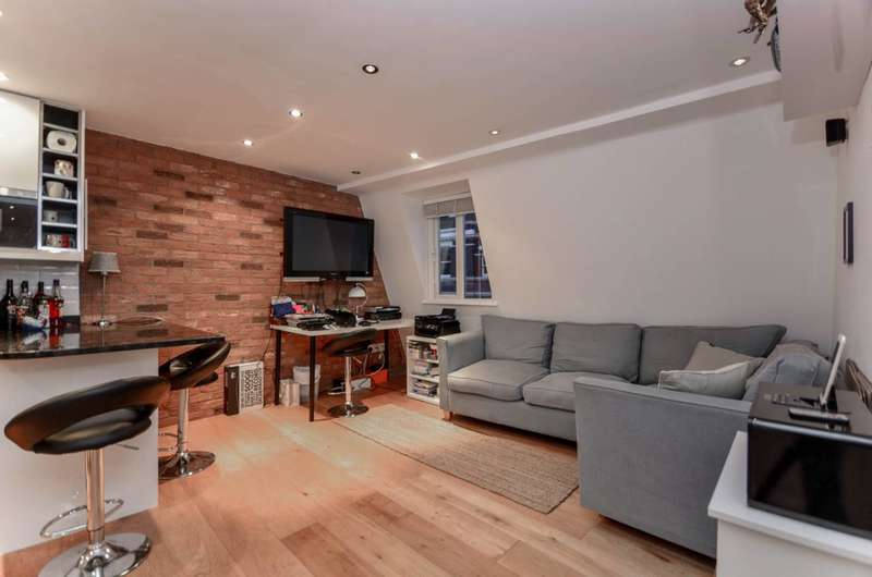 1 Bedroom Flat for sale in Cleveland Street, Fitzrovia, W1T