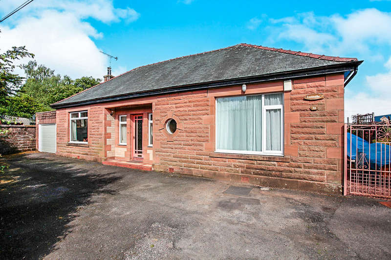 3 Bedrooms Detached Bungalow for sale in Laurieknowe, Dumfries, DG2