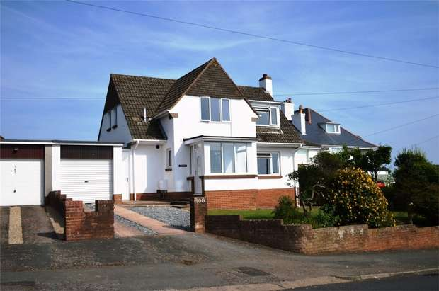 3 Bedrooms Detached House for sale in Hulham Road, EXMOUTH, Devon